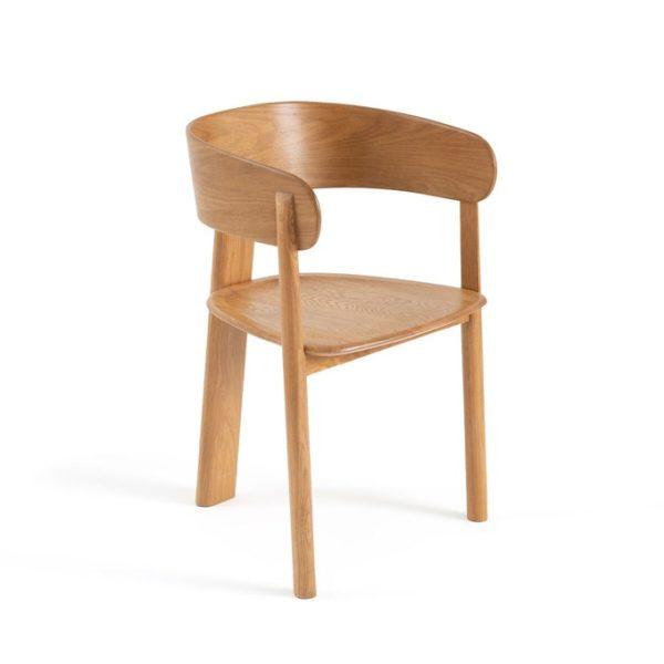 Fauteuil de table en chêne, Marais design E. Gallina pour Ampm