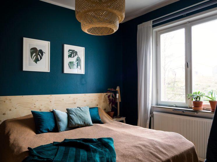 10 idées déco pour une chambre à coucher stylée // Se fabriquer une tête de lit en contreplaqué ou en pin