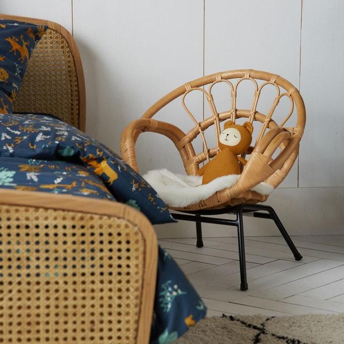 Fauteuil enfant en rotin, Malu - La Redoute Intérieurs
