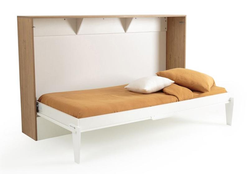 Une chambre d'enfant évolutive canon // Lit escamotable, Banero sur La Redoute Intérieurs pour un couchage d'appoint