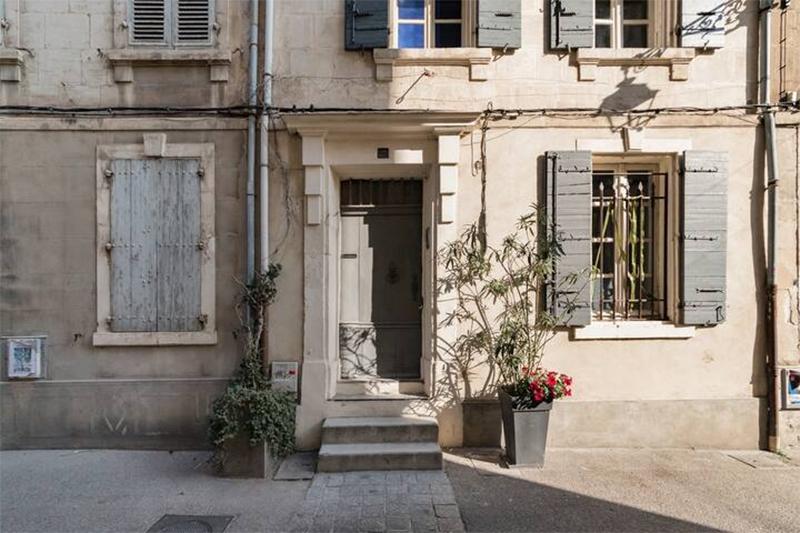 Maison d'hôtes située à Arles, à retrouver sur Airbnb