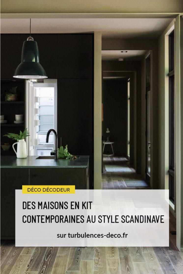 Des maisons en kit contemporaines au style scandinave par Hygge Supply à retrouver sur le blog