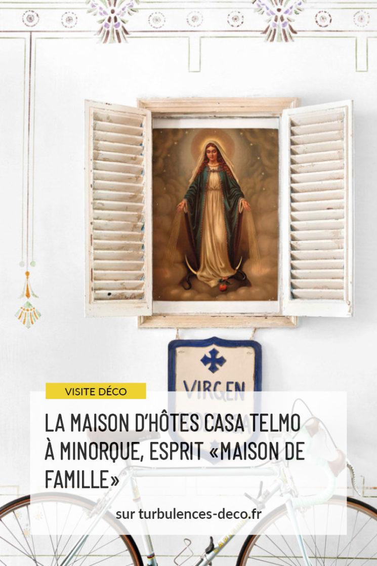 """La maison d'hôtes Casa Telmo à Minorque, esprit """"brocante"""""""