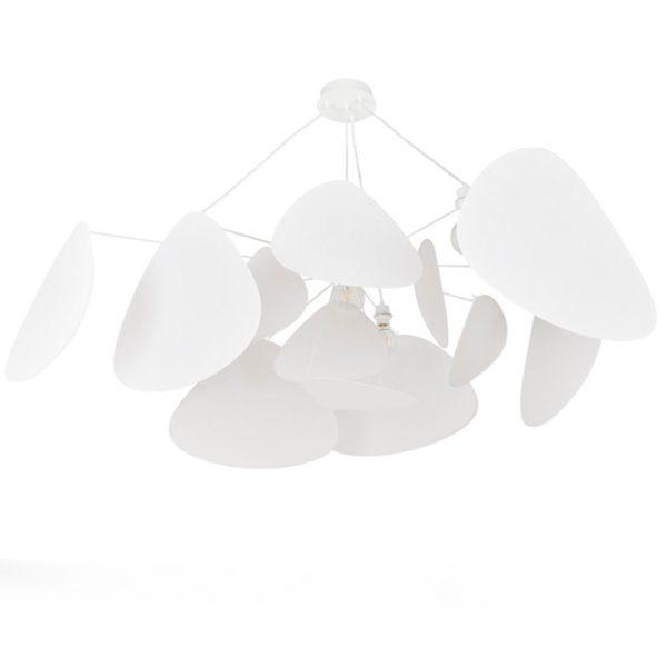Suspension en métal et papier, Screen Murano, design : Sune Jehrbo - Market Set
