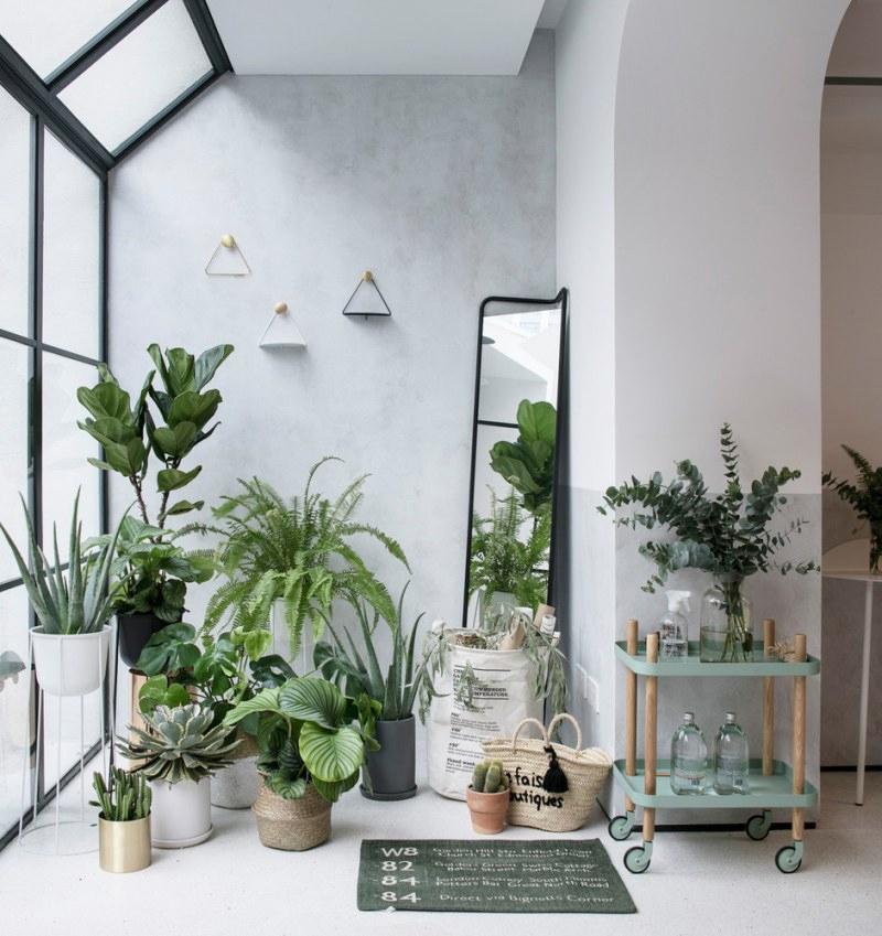 Aménager un jardin d'hiver dans sa véranda // Design intérieur : RIGI Design