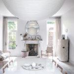 Un intérieur «classique» revisité en blanc par Faye Toogood