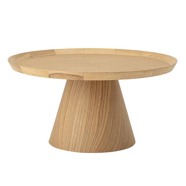 Table basse ronde en chêne, Luana - Bloomingville