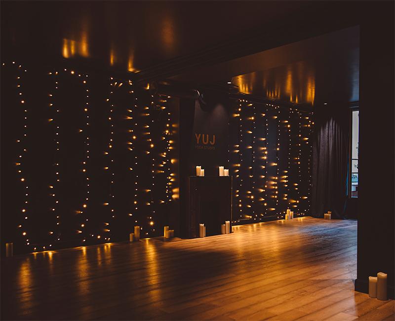 Hoy hôtel à Paris, une esthétique wabi sabi bohème // la salle de yoga
