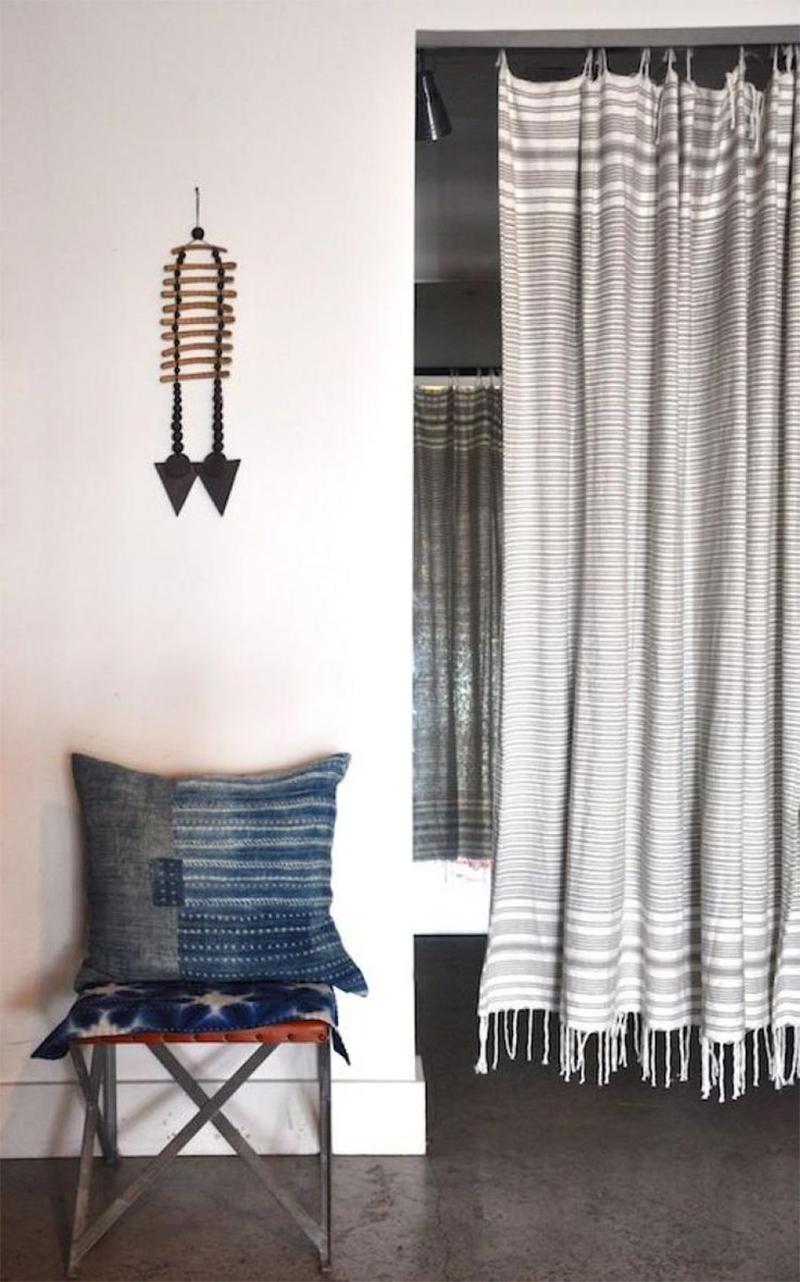 Adopter la fouta en décoration, en rideau pour une déco plus bohème
