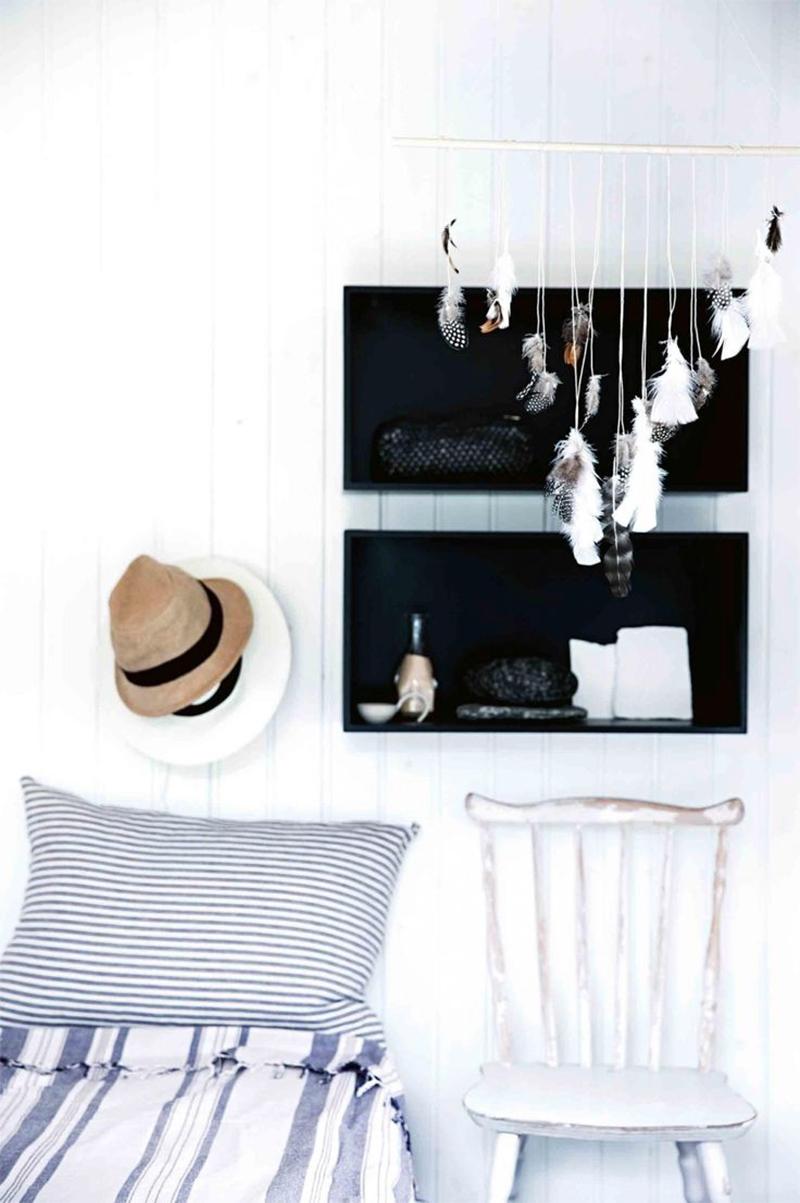 Adopter la fouta en décoration, en jeté de lit pour une ambiance scandinave ethnique minimaliste slow