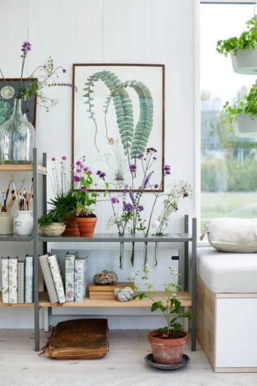 Maisons cabanes, maisons d'été en Suède par la société Sommernöjen // Esprit nature pour cette tiny house