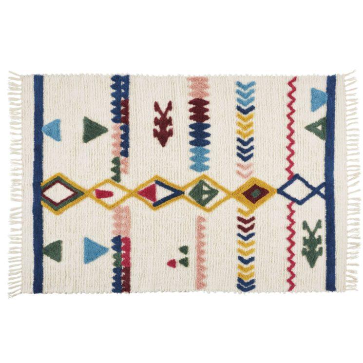 Tapis en coton et laine, Maredina sur Maisons du Monde
