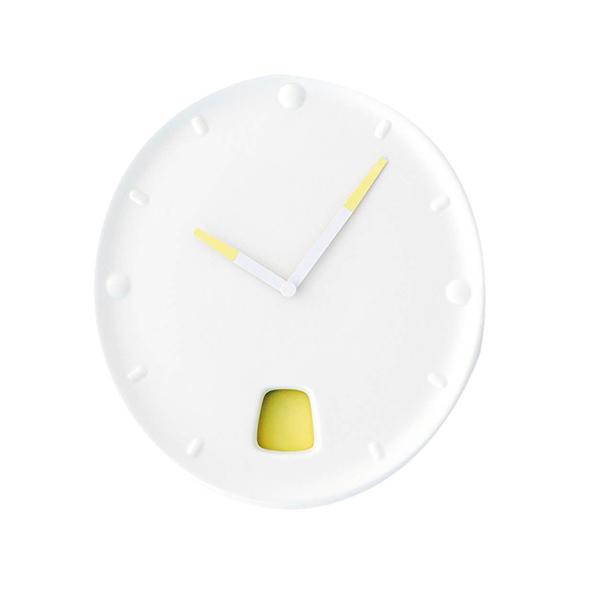 Horloge murale, Guichet, design Inga Sempé - Moustache