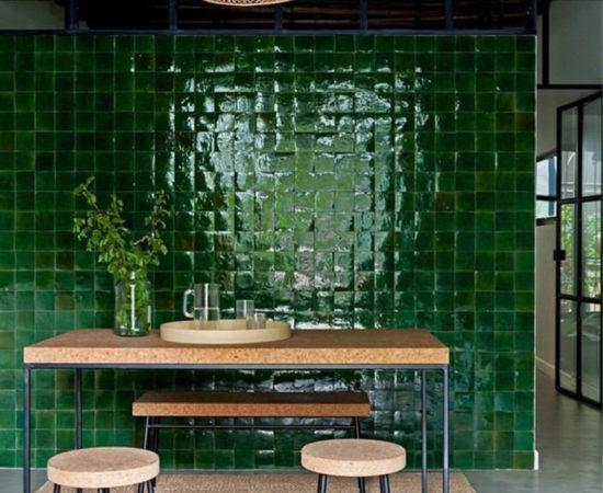 zelliges verts-en-deco_costanzamilano_the-greenhouse-loft_1