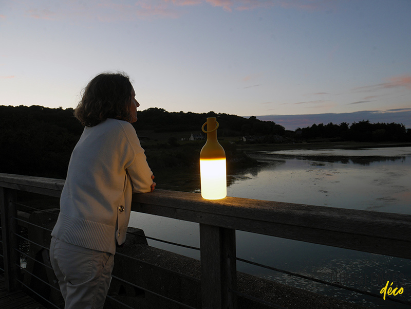 La Lampe Nomade Elo par Designerbox et Leroy Merlin // Turbulences Déco