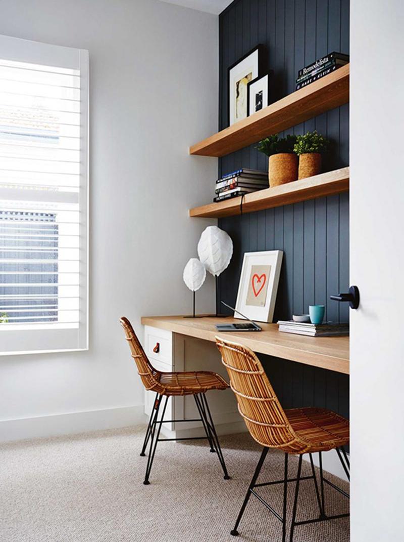 Agencer un bureau design // Dea and Darren Jolly résidence