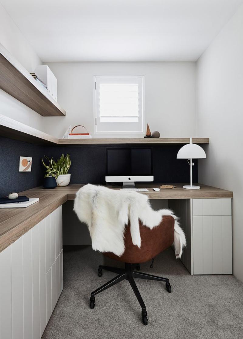 Des idées pour agencer un bureau comme un pro // Design intérieur : Oliver Myles Interiors