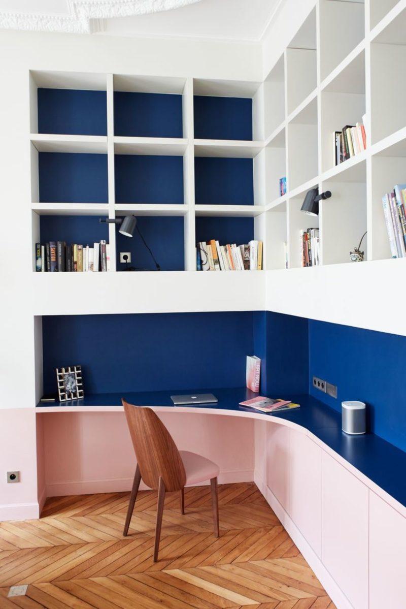 Agencer un bureau design // GCG architectes - Appartement Paris