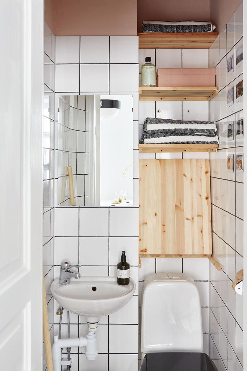 Un appartement suédois avec de bonnes idées gain de place