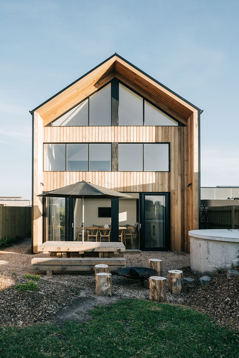 The Bungalow, Cap Paterson, Australie // Architecte : The Sociable Weaver