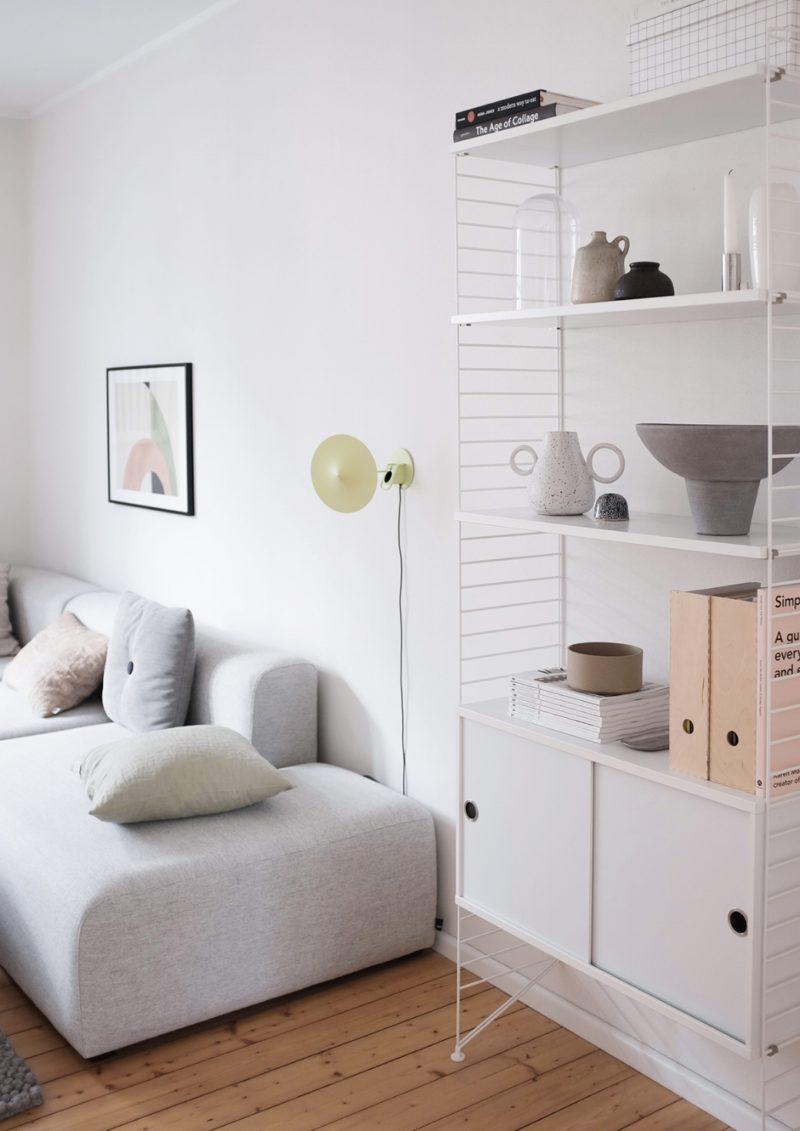 Vers un intérieur plus minimaliste // via decor8blog.com -Intérieur de Swantje Hinrichsen (@swantjeundfrieda)