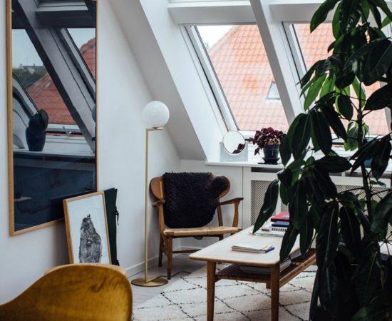 amenager un appartement sous les toits_Line Borella in Copenhagen
