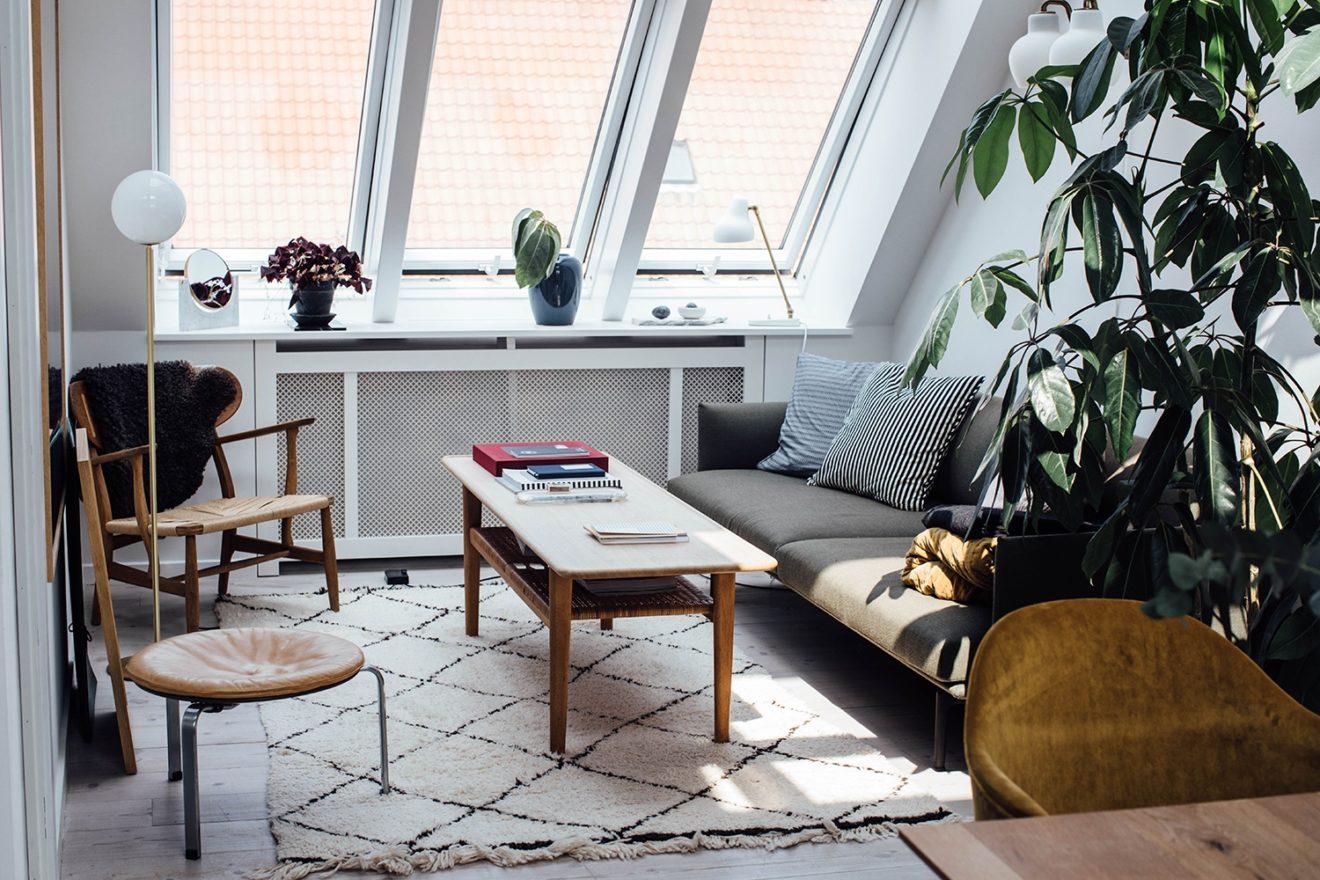 amenager un appartement sous les toits_Line Borella in Copenhagen_2