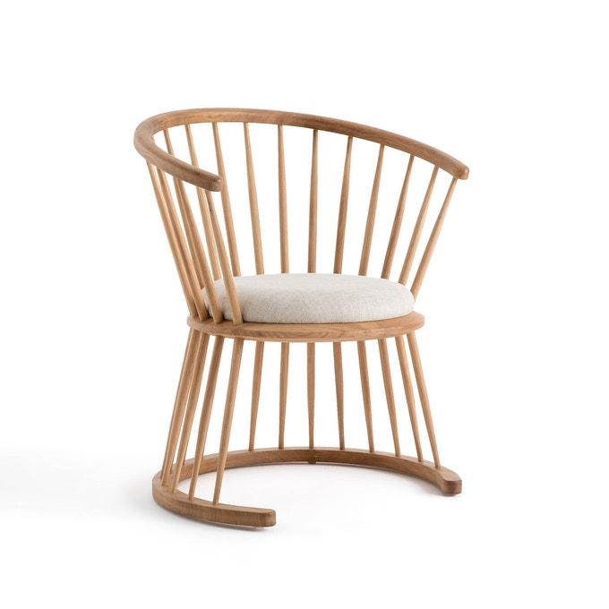 Fauteuil Raggi bas, naturel, design E. Gallina -399 € sur Ampm