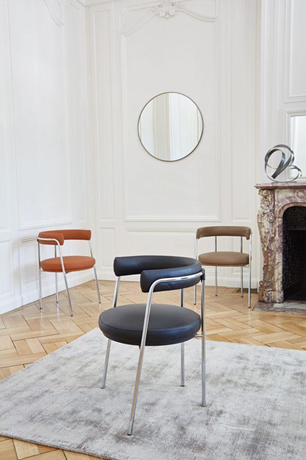 Nouvelle collection Automne Hiver 2020, Am.Pm // Fauteuil de table cuir, Jubo - 319 €