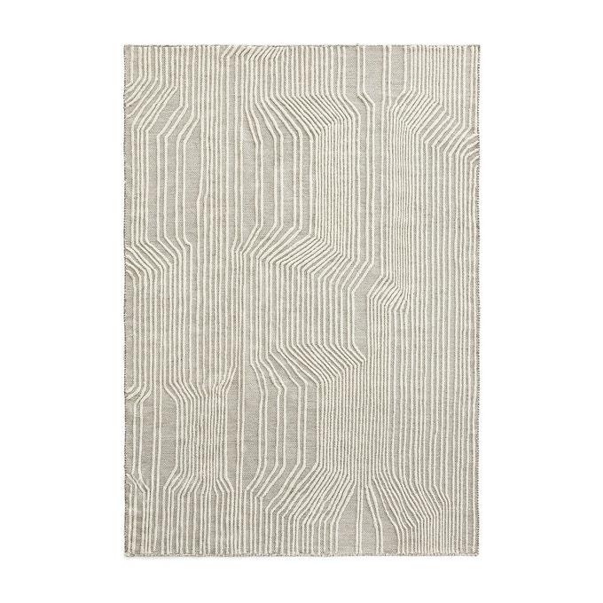 Tapis en laine et coton, Farooka, 259 € sur Ampm