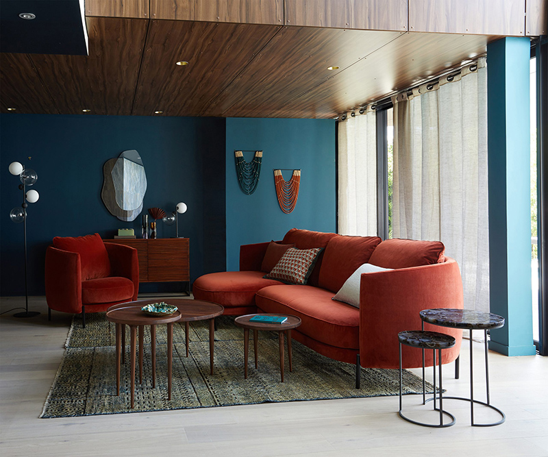 Nouvelle collection Automne Hiver 2020, Am.Pm // Canapé à combiner, Arcus, design :E.Gallina- Existe en plusieurs couleurs