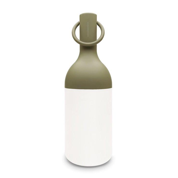Lampe nomade d'extérieur, Bouteille, design : Bina Baitel pour Designer Box