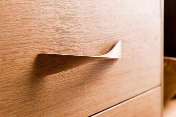 Poignée de meuble en chêne, torsadée, LelloLiving, 21,09 €