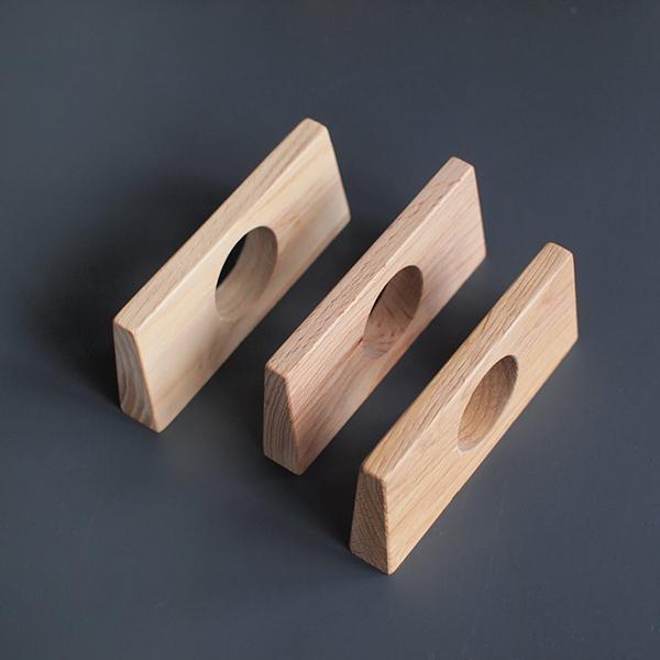 Poignée de placard en bois, moderne, NewWoodBY, à partir de 8 €