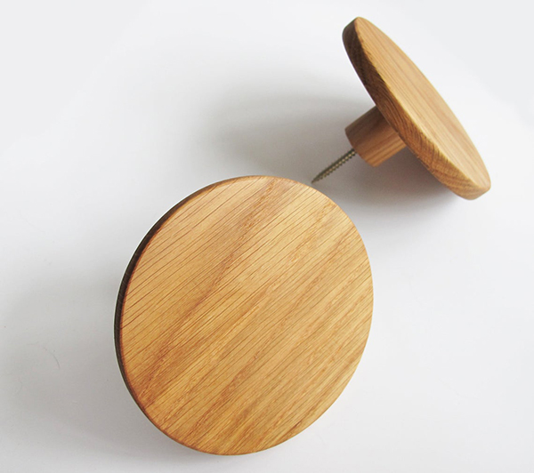 Grande poignée en bois de 3,8 cm de diamètre, Vishemir, 13,99 €