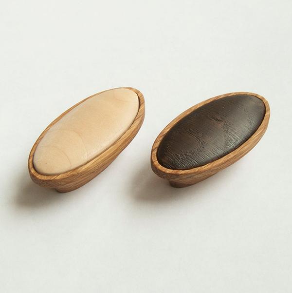 Poignée en bois avec insert, plusieurs choix, WoodenHandlesDesign, 12,35 €