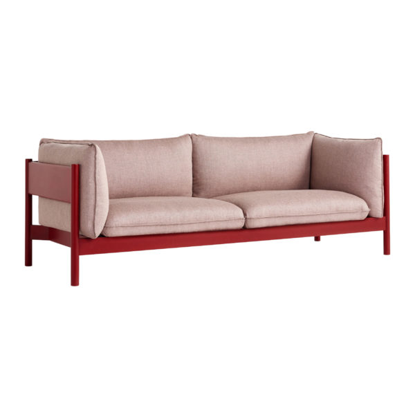 Canapé droit, Arbour Eco, design : Josha Roymans, Daniel Rybakken pour Hay