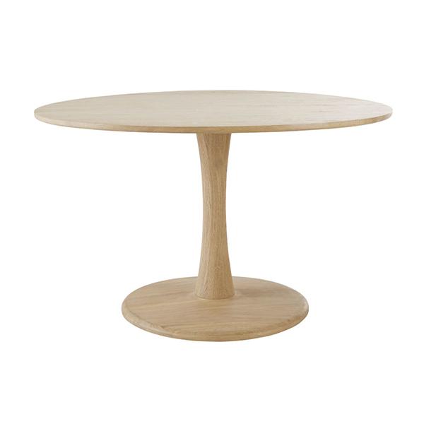 Table à manger ronde en chêne, Jay sur Maisons du Monde