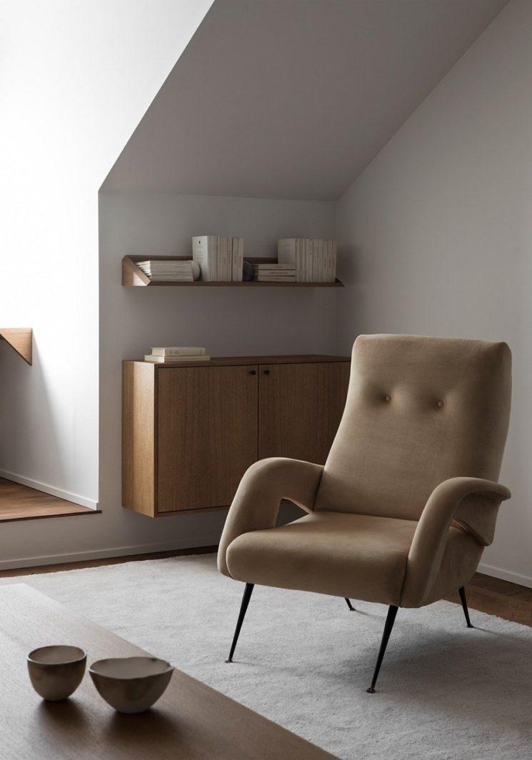 Vers un intérieur plus minimaliste // Design intérieur : Liljencrantz Design – Photo : Erik Lefvander