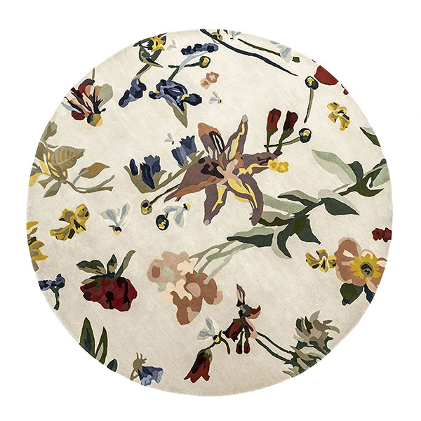 Tapis Flora - Promenade, design : Santoi Moix pour Nanimarquina