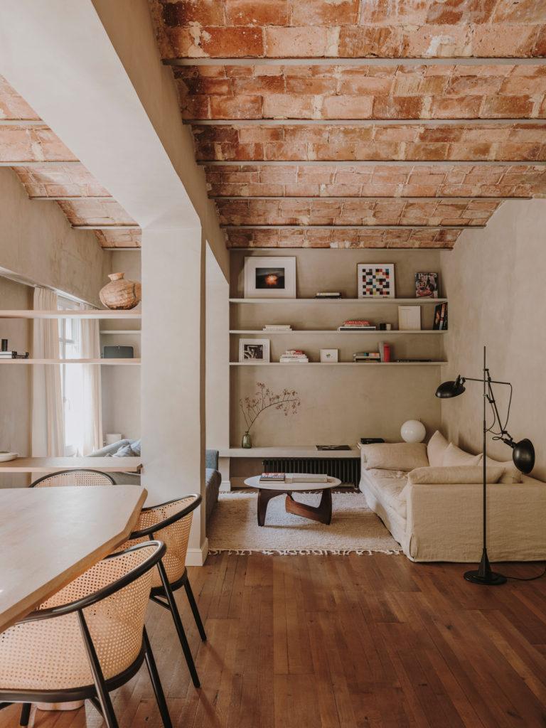 Une réhabilitation slow à Barcelone par le studio Conti, Cert - Projet Narci Oller