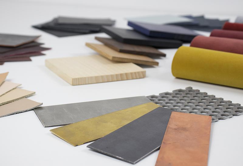 Comment créer un material board ou planche de matériaux ? à retrouver sur Turbulences Déco