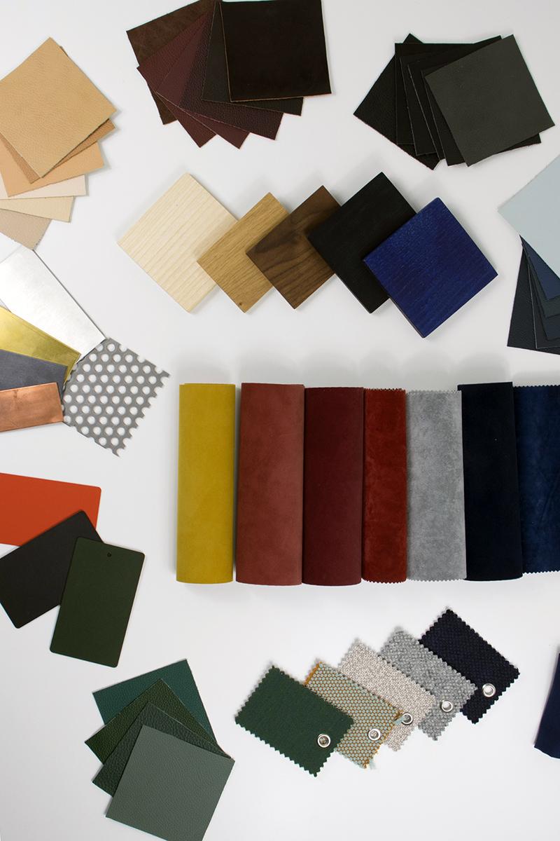 Comment créer un material board ou planche de matériaux ? La récolte des échantillons