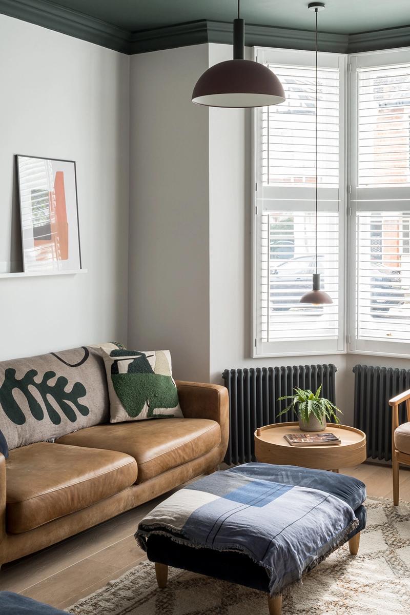 Une maison londonienne à l'intérieur familiale et design