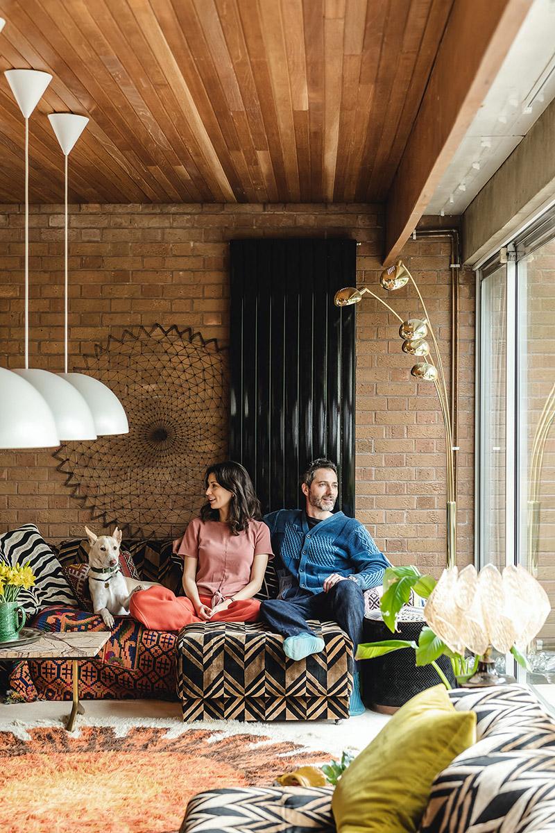 La maison des années 70 de Jasmine Hemsley et Nick Hopper