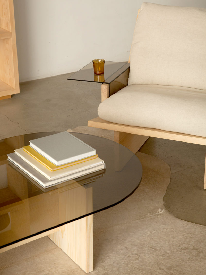 Collection Rugosa par Kalon Studios - 2020 / Rugosa coffee table et armchair