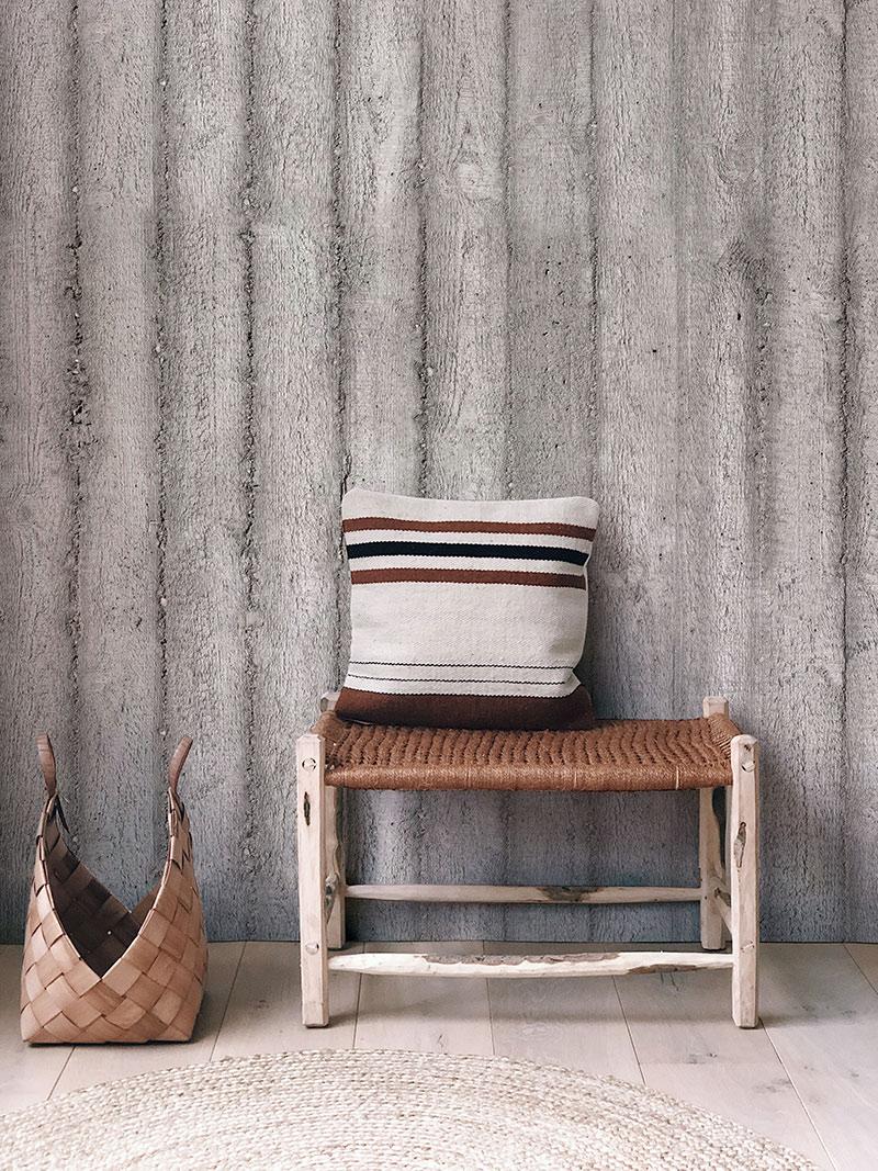 Les Dominitiers - Collection de papier-peints panoramiques CONCRETE WALLS - Modèle CONCRETE STRIPES