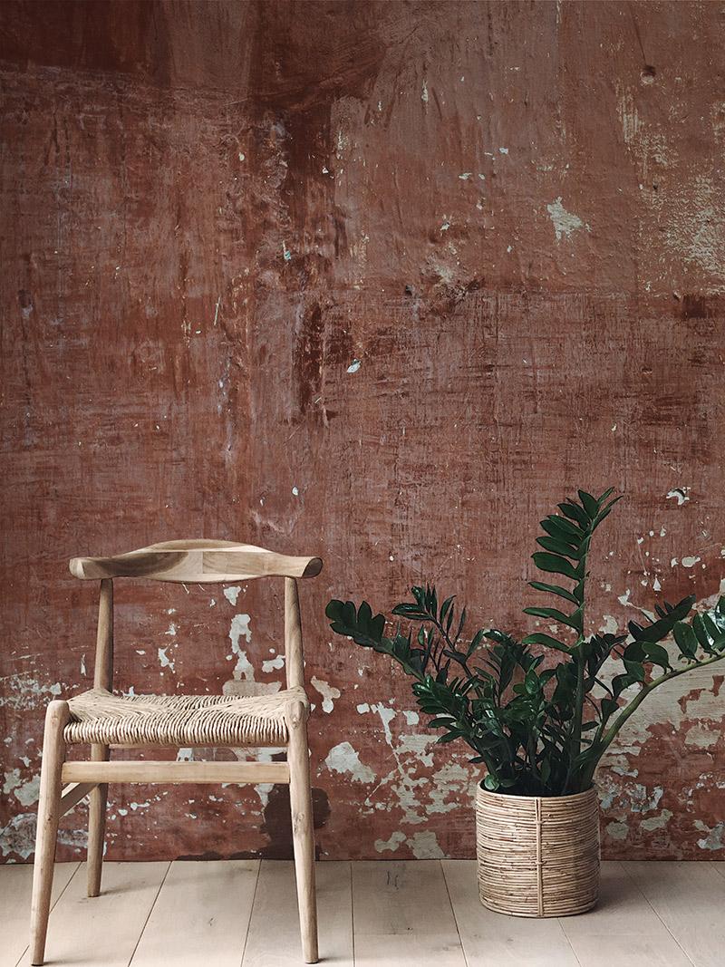 Les Dominitiers - Collection de papier-peints panoramiquesPATINA WALLS - Modèle RED PATINAS WALL