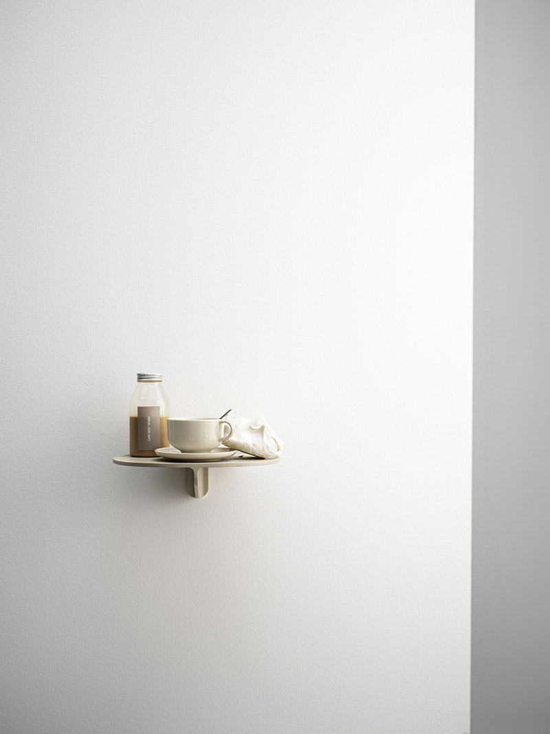 Console STRING MUSEUM en aluminium peint,, design by TAF Studio