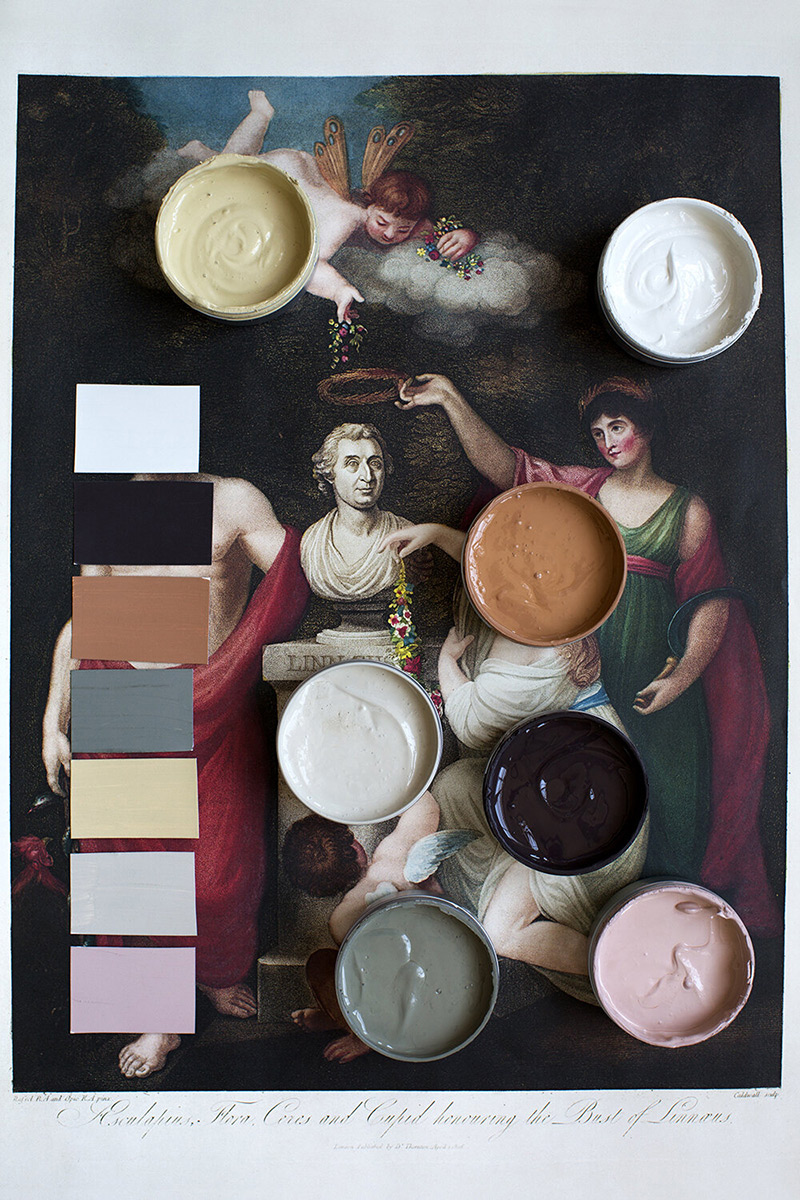 """Les peintures de l'Atelier Ellis - Palette de couleur """"Prime"""""""
